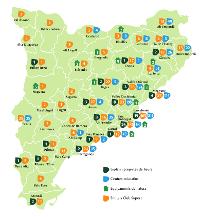Serveis i projectes de Fundesplai per tot Catalunya