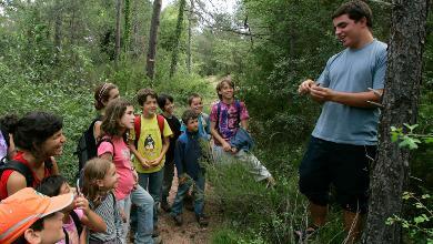 Programa de educación ambiental en las escuelas de Girona: el entorno natural en la escuela