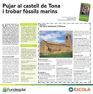 Excursió familiar per pujar al castell de Tona