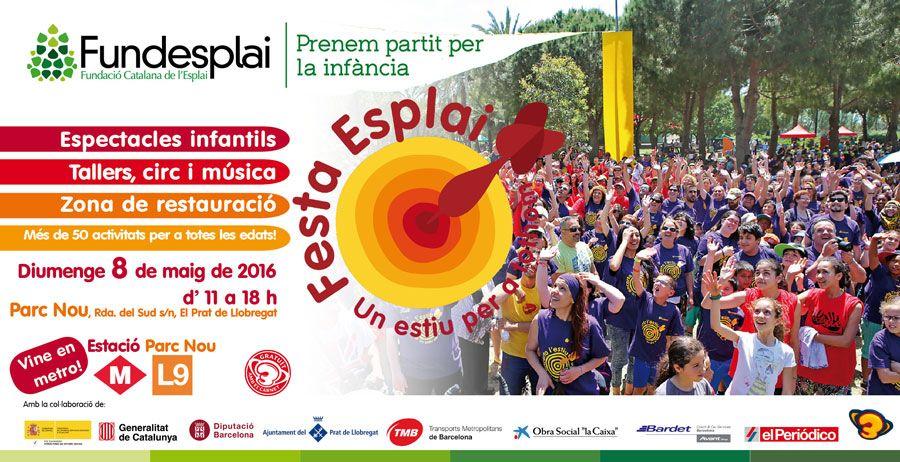 8 de maig: Festa Esplai, la festa de l'educació en el lleure