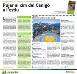Excursió amb adolescents al Canigó