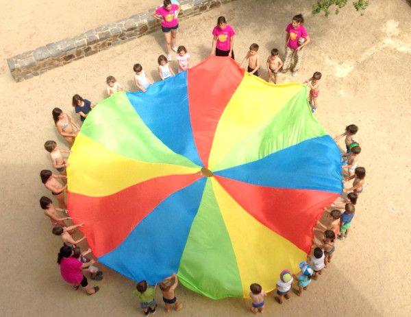 Casal d'estiu amb activitats de lleure educatiu