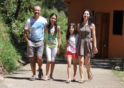 Les vacances en família enforteixen els vincles familiars