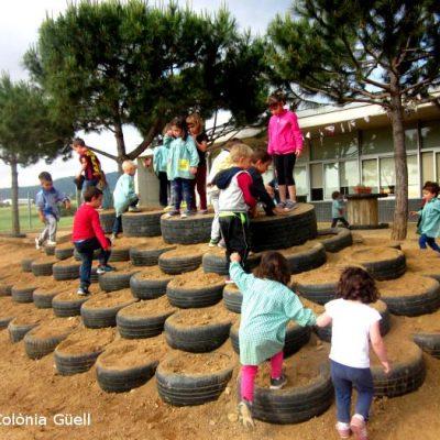 Escoles que estan transformant el pati