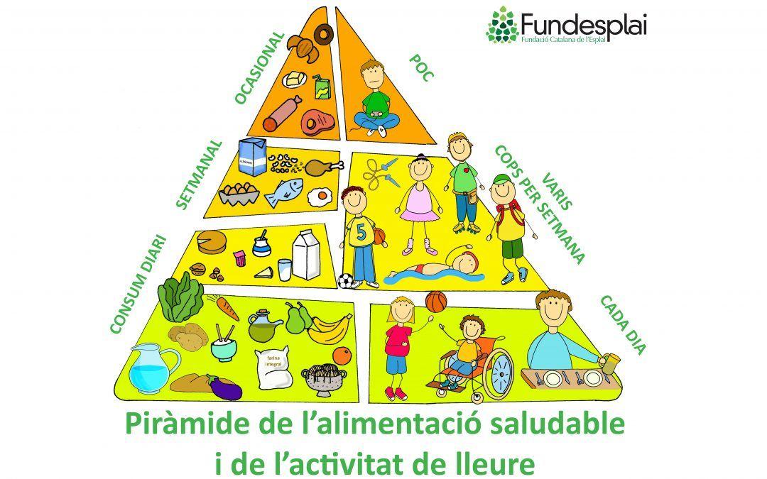 La nova piràmide de l'alimentació saludable