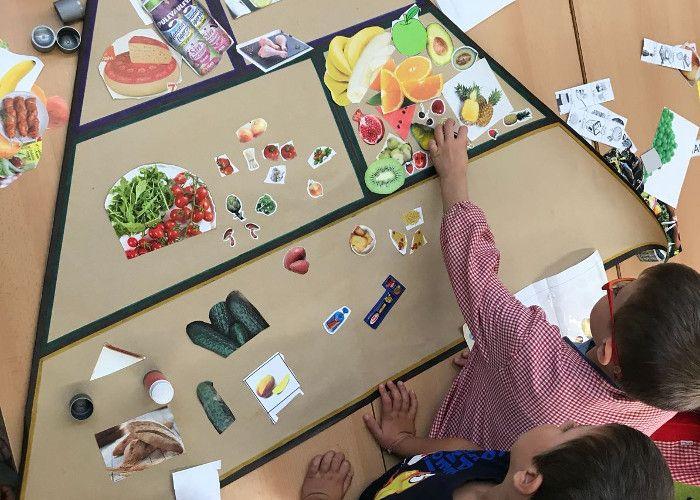 El Dia Mundial de l'Alimentació als menjadors escolars
