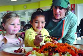menjador escolar projecte educatiu