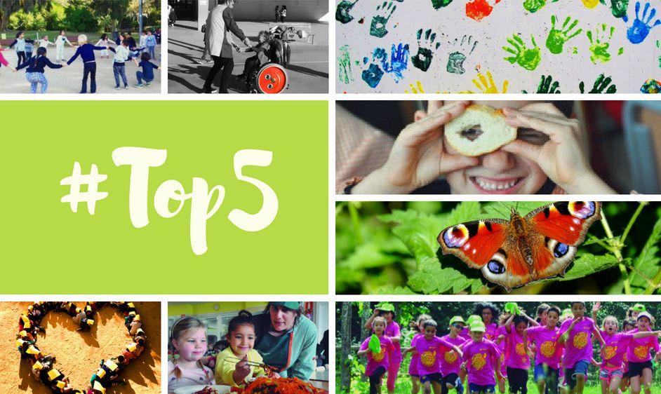 El #Top5 del blog +Escola