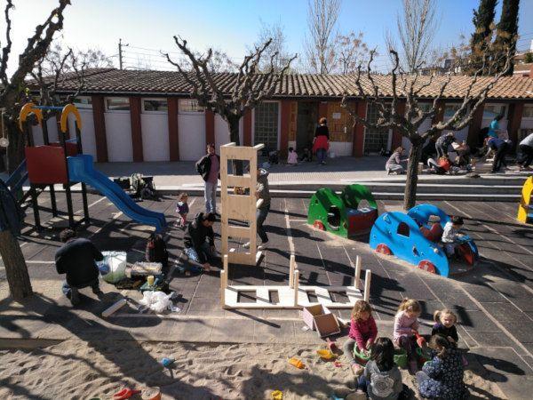 Projecte pati: transformar el pati de l'escola en un espai educatiu