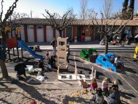 Projecte patis a l'escola Mare de Déu de Montserrat