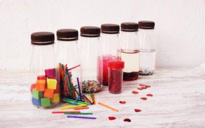Com fer ampolles sensorials per a infants de 0 a 6 anys