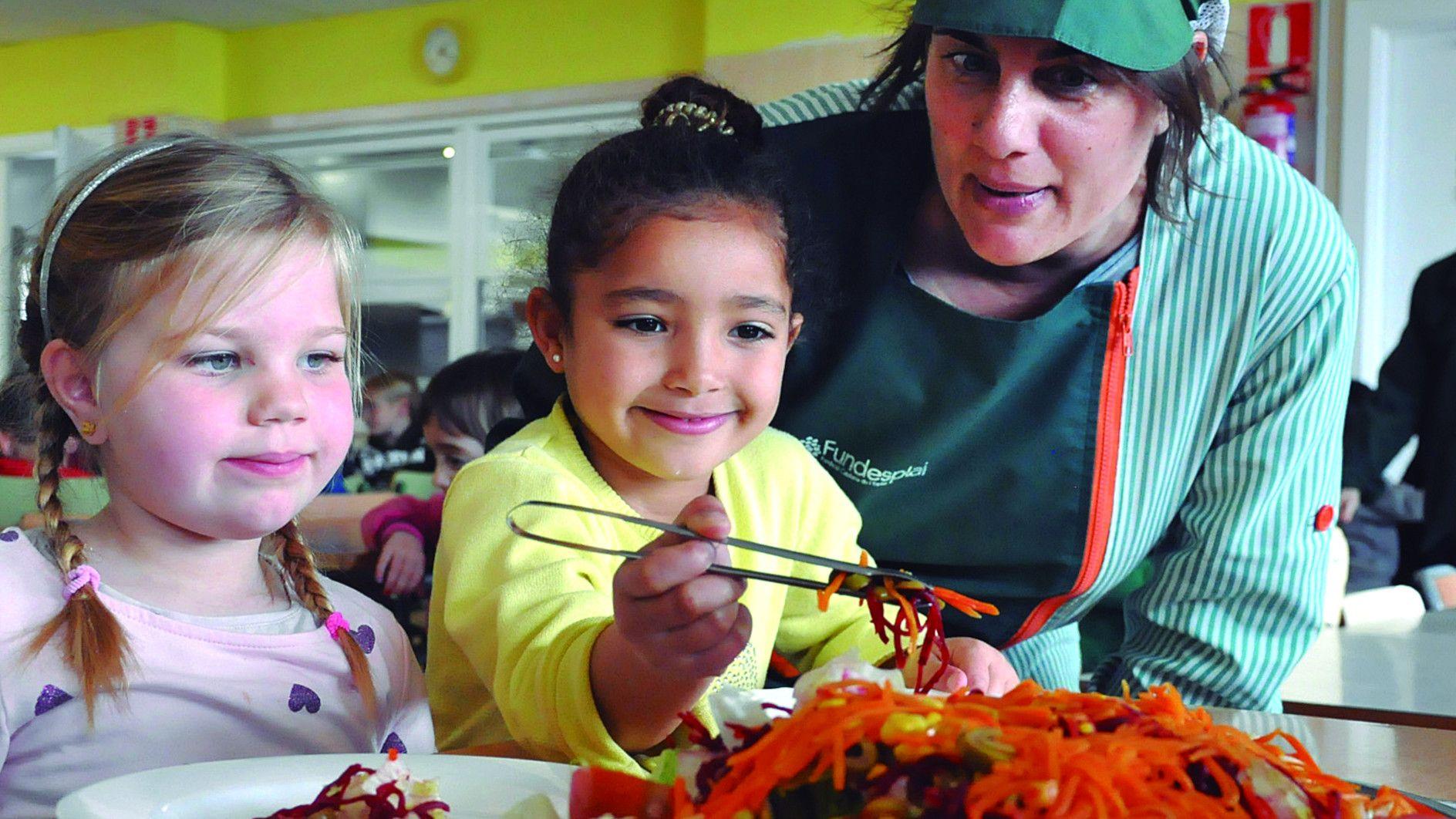 Alimentació saludable menjador escolar