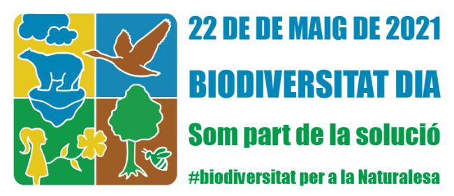 22 maig dia mundial biodiversitat logo