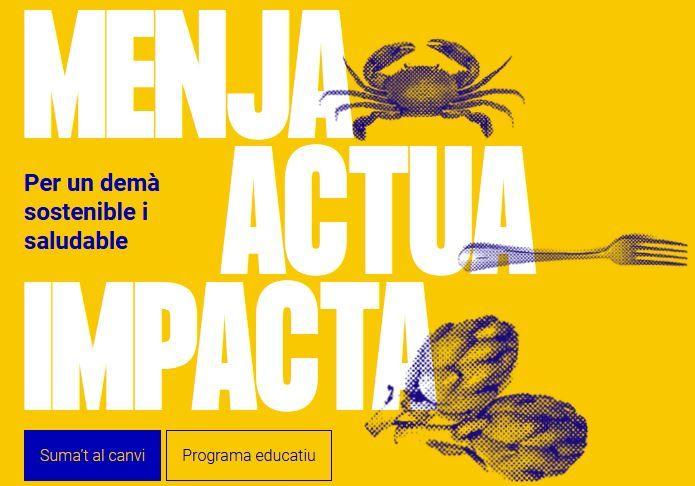Menja actua impacta Fundesplai